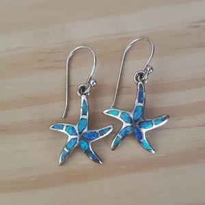 Earrings from the virgin islands